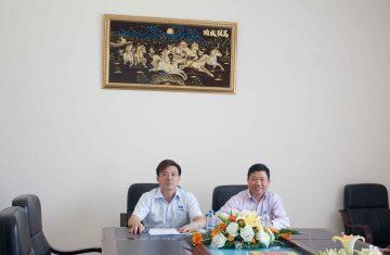 (Tiếng Việt) KSB ký hợp đồng nguyên tắc cho thuê lại 2,8ha đất trị giá gần 1,7 triệu đô la