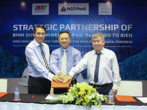 KSB, STB và Fico PanU hợp tác chiến lược 3 bên để cung cấp giải pháp toàn diện cho ngành công nghiệp vật liệu xây dựng phía Nam