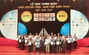 Công ty CP Khoáng sản và Xây dựng Bình Dương (BIMICO) vào top 50 Nhãn hiệu nổi tiếng nhất VN 2017