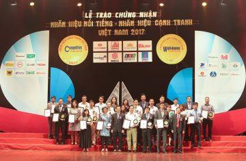 (Tiếng Việt) Công ty CP Khoáng sản và Xây dựng Bình Dương (BIMICO) vào top 50 Nhãn hiệu nổi tiếng nhất VN 2017