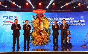 Lễ kỷ niệm 25 năm thành lập Công ty và đón nhận Huân chương lao động hạng nhì