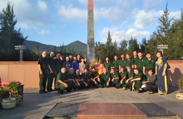 Đoàn Hội cựu chiến binh Công ty KSB tổ chức về nguồn tại khu Di tích lịch sử Côn Đảo