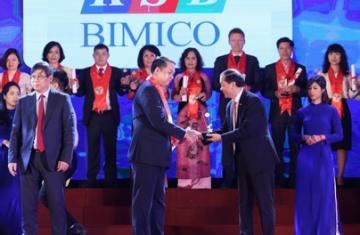 (Tiếng Việt) Bimico(KSB) vinh dự nhận giải thưởng Rồng Vàng 2018