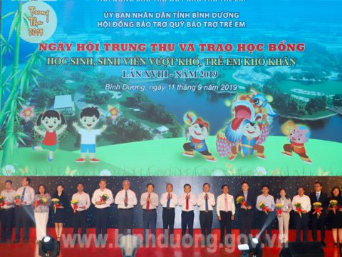 KSB-BIMICO đồng hành cùng Ngày hội Trung thu và trao học bổng tỉnh Bình Dương