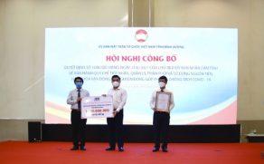 (Tiếng Việt) KSB ủng hộ 1 tỷ đồng cho Quỹ phòng, chống dịch COVID-19 tỉnh Bình Dương