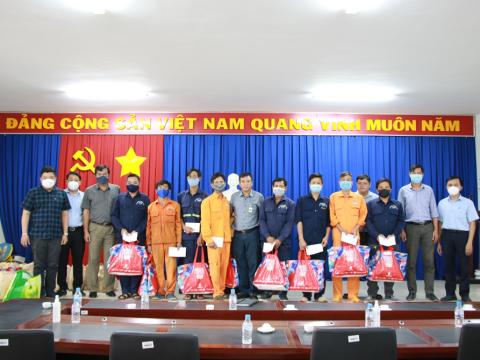 (Tiếng Việt) Ban Lãnh đạo Công ty Cổ phần Khoáng sản và Xây dựng Bình Dương (KSB) thăm, làm việc tại đơn vị trực thuộc.
